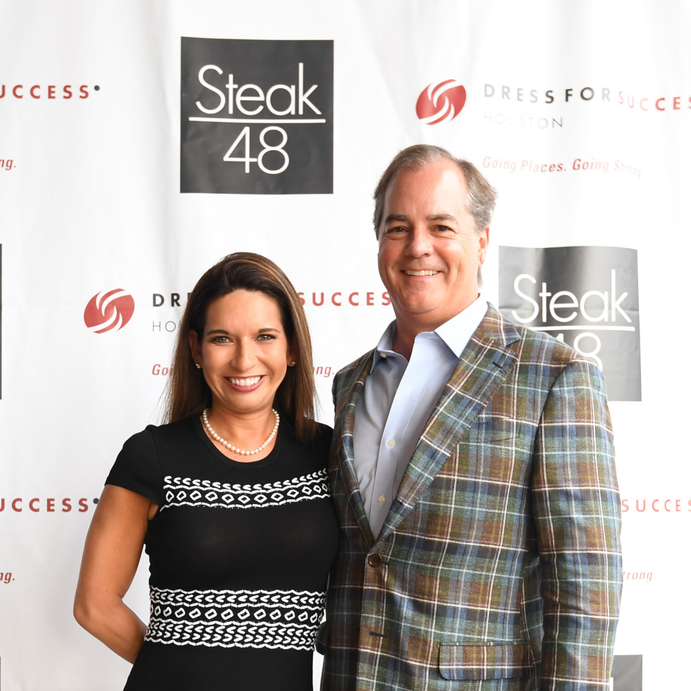 Steak 48 Opening dinners, 6/16, Denise Tinkham, Monte Tinkham