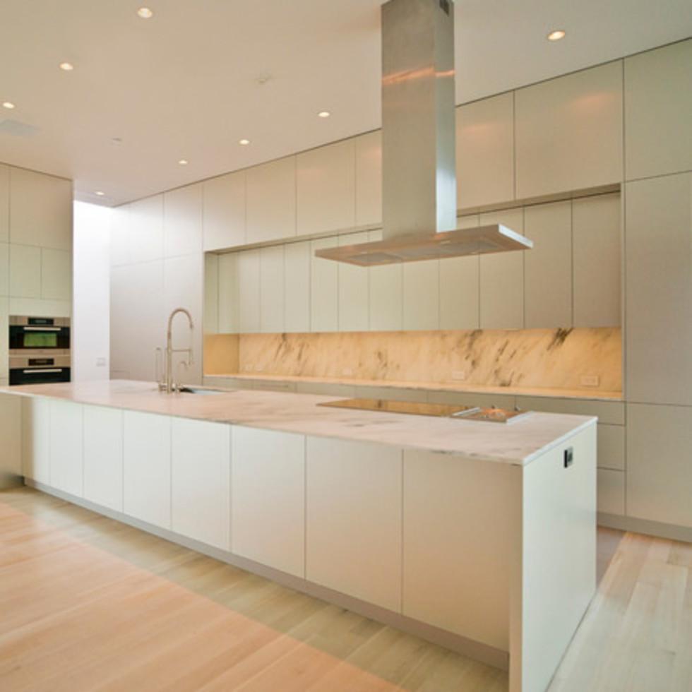 Houzz Dallas house home modern minimalism June 2016 kitchen