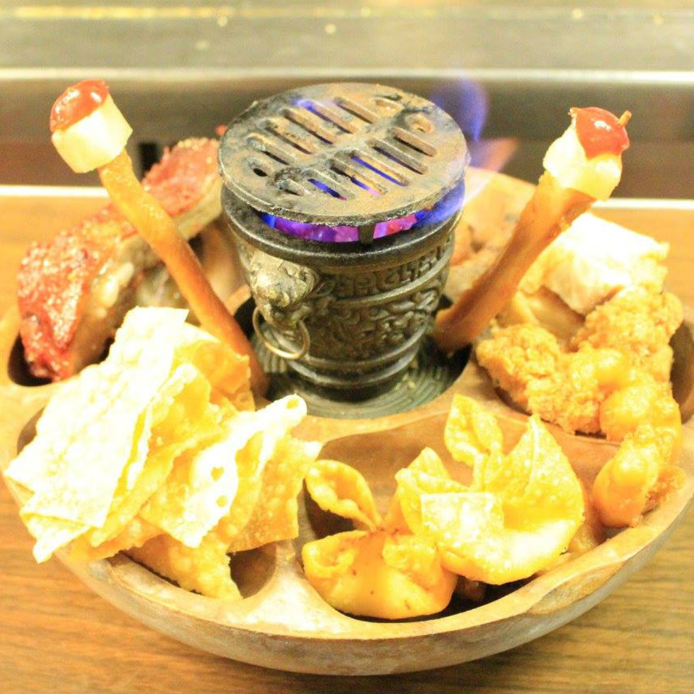Hung Fong pu pu platter