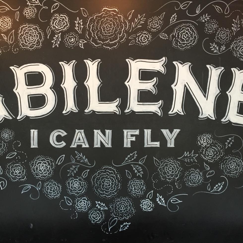 Abilene I can Fly; abilene; abi haus