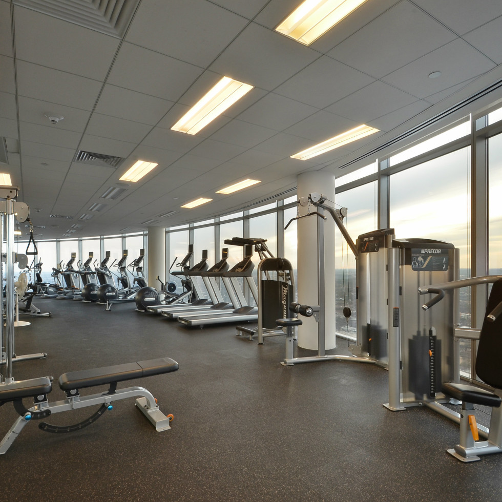 Austonian 33FF fitness center