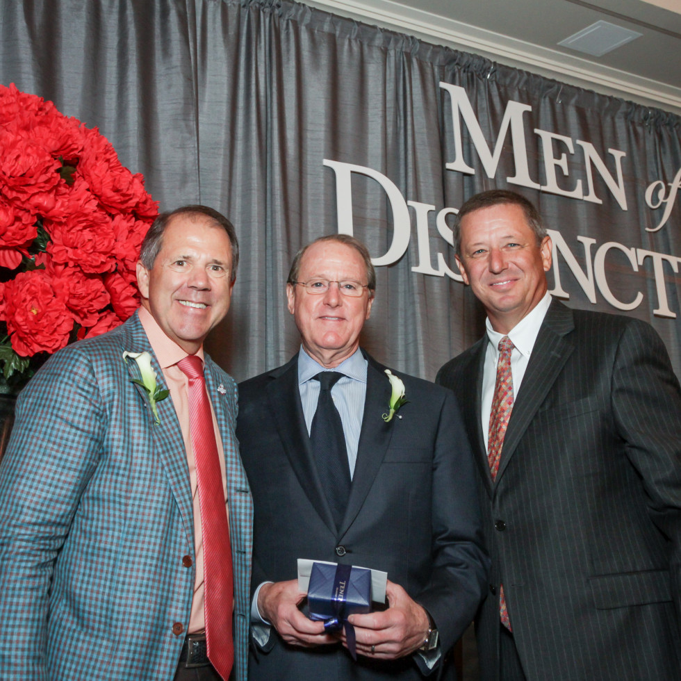 Men of Distinction, Ric Campo, David Solomon, David Wuthrich