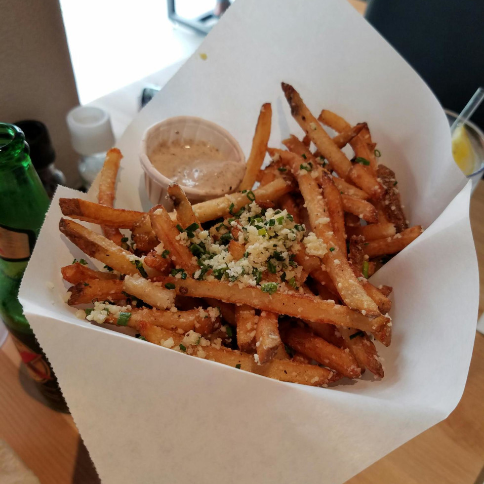 Hopdoddy Parmesan truffle fries
