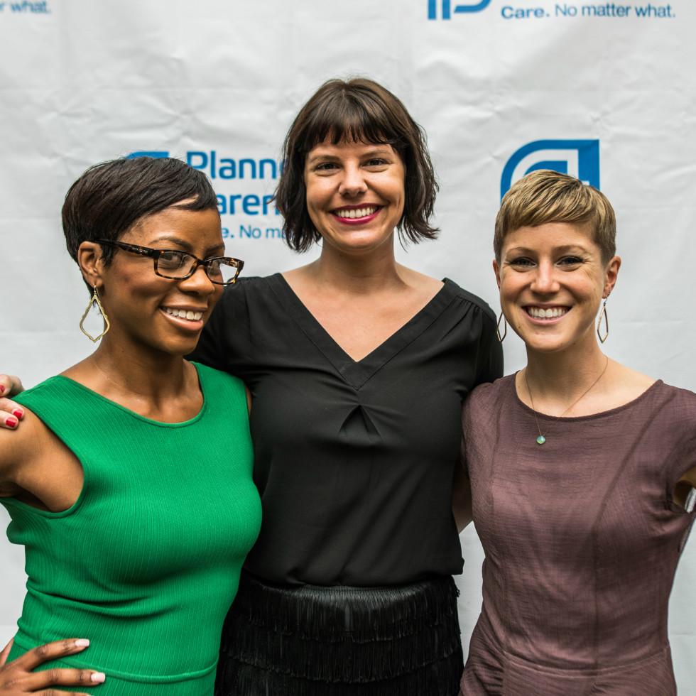 Planned Parenthood Cocktails for a Cause 2016 Shavonne Henderson Alissa Parsley Katie Hansen