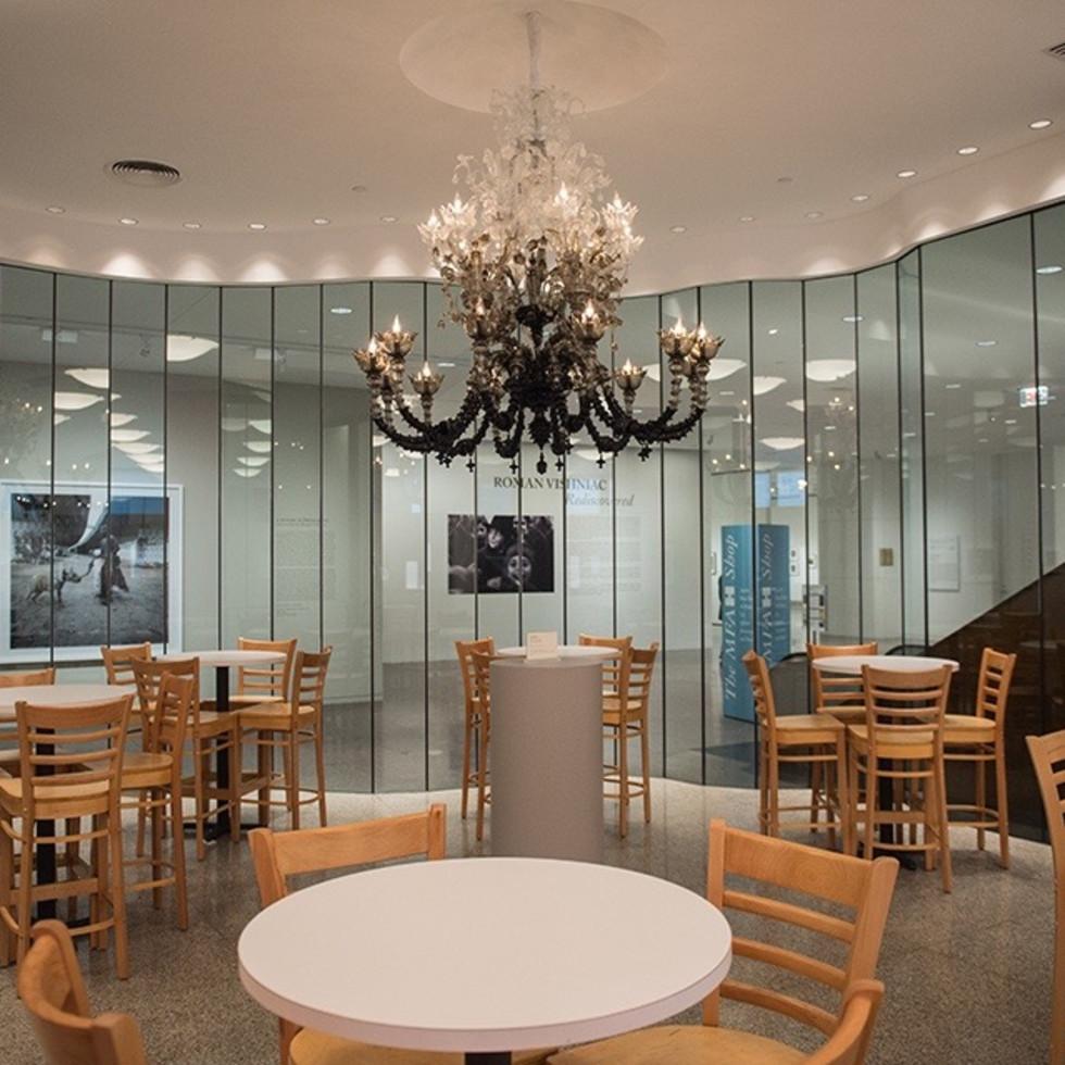 MFA Cafe interiors