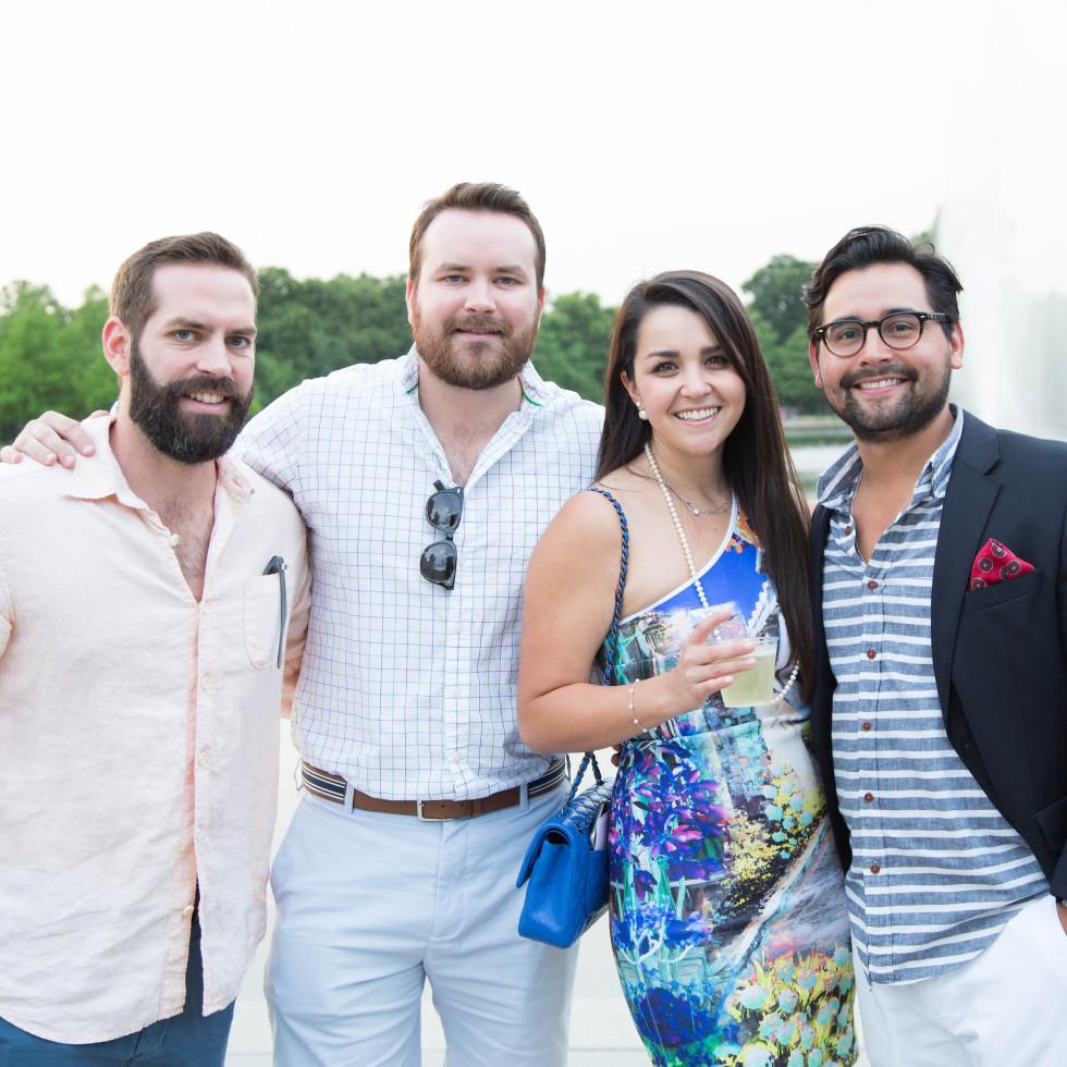 Urban Green Overboard party, Rob Davis, Matt Davis, Sara-Ashley Hernandez, Adrian Moreno