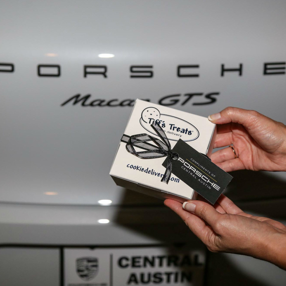 Tastemakers Tiff's Treats Porsche Central Austin