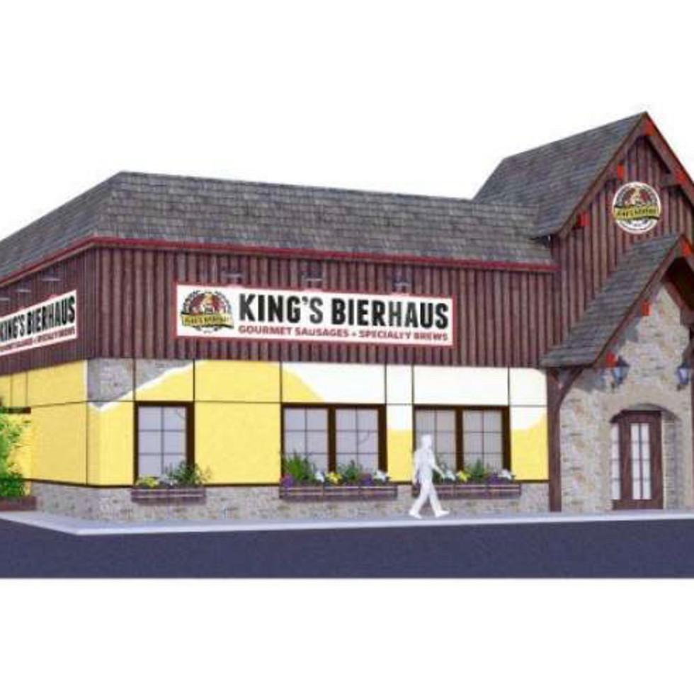 King's BierHaus rendering