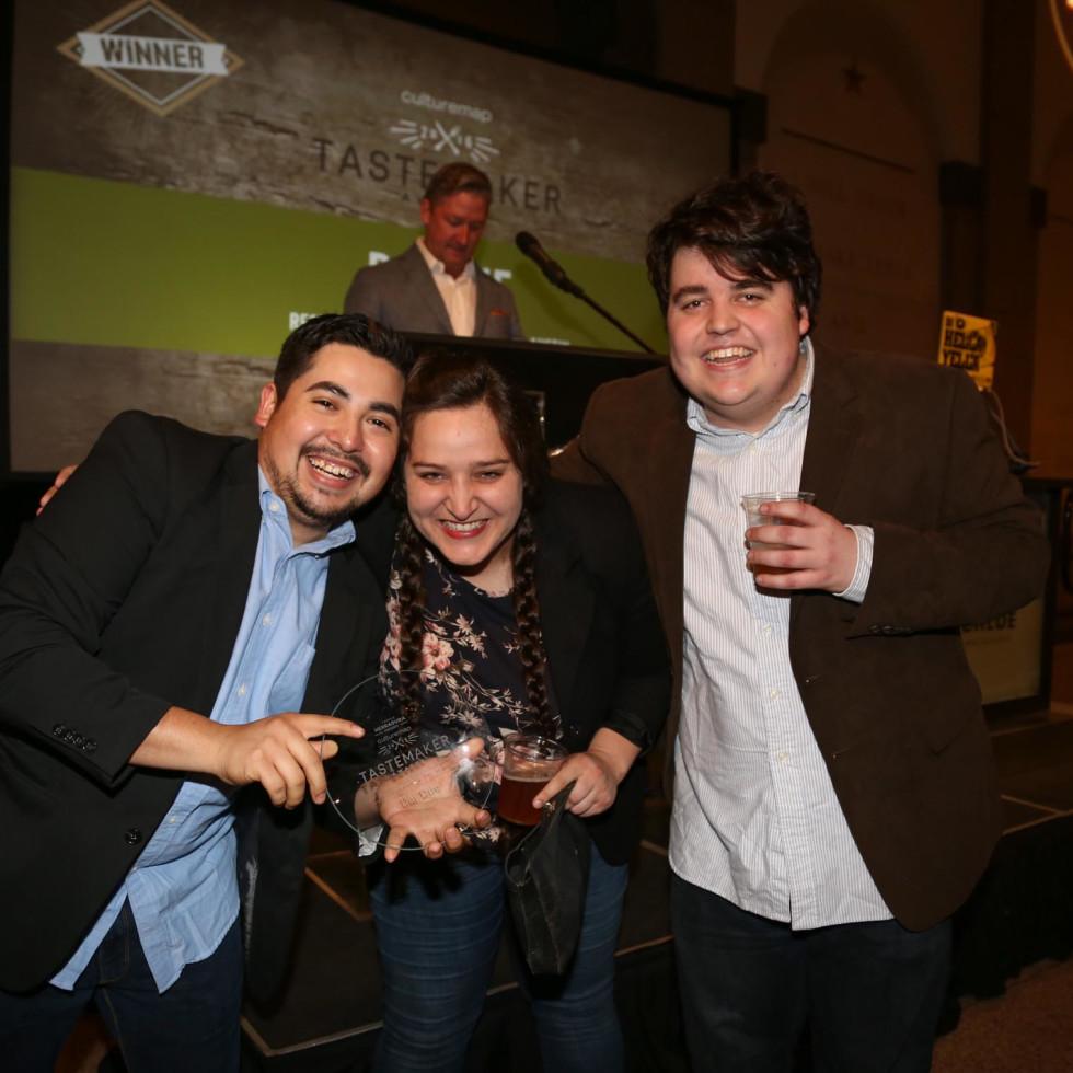 CultureMap Tastemaker Awards 2016 at Bob Bullock Museum Dai Due