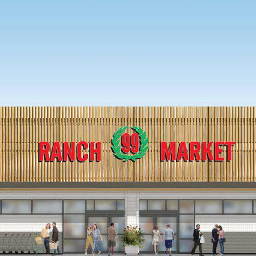 99 Ranch Market grocery store Asian supermarket Austin Crecent rendering Misuma Holdings CBRE