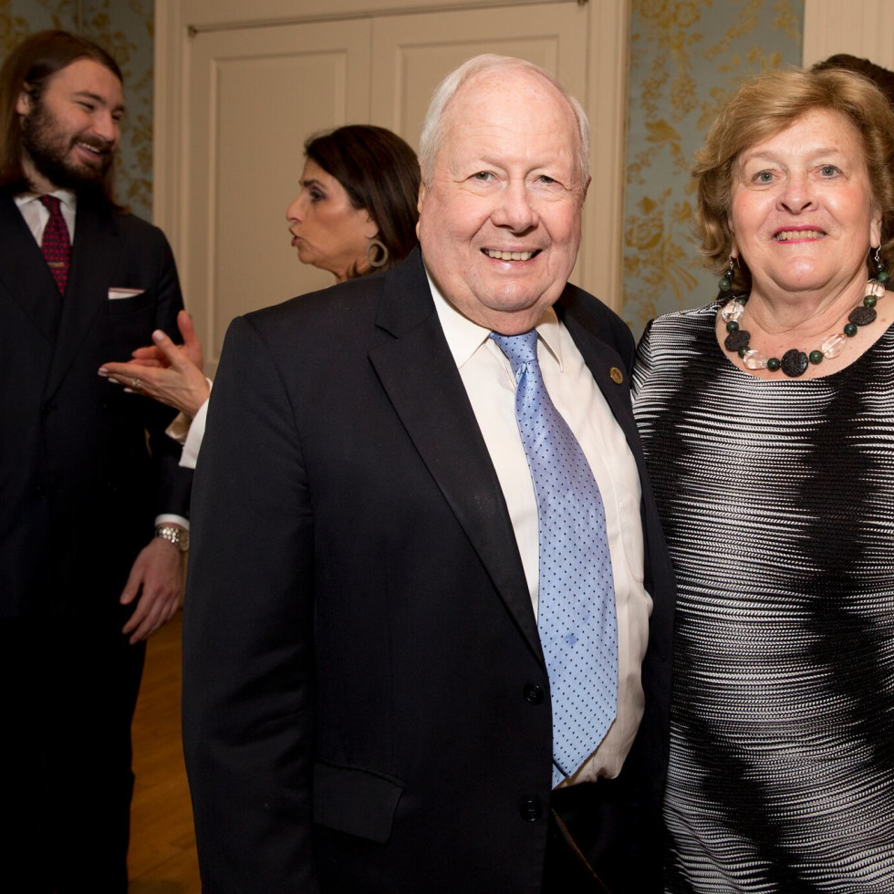 Houston, Bayou Preservation Association Anniversary Luncheon, May 2016, Tom Lord, Kathy Lord
