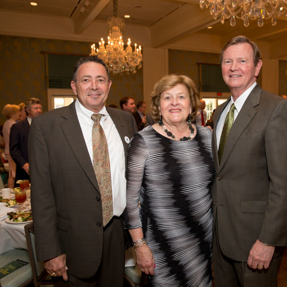 Houston, Bayou Preservation Association Anniversary Luncheon, May 2016, Robert Rayburn, Kathy Lord, Mike Talbott