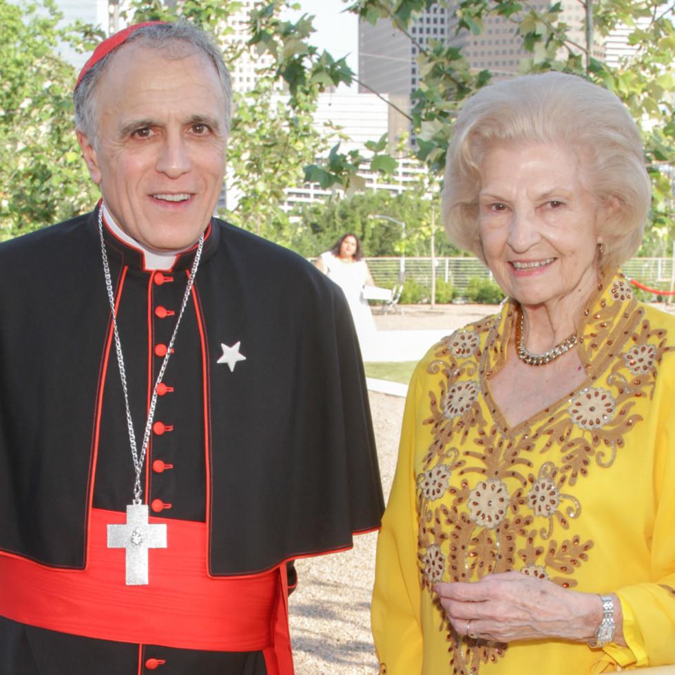 Catholic Charities Gala 5/16 Cardinal Daniel DiNardo, Rae White
