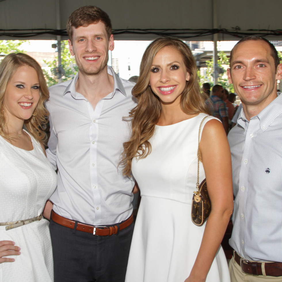 Catholic Charities Gala 5/16 Adam and Jenna Malden; Claire and Bret Howell