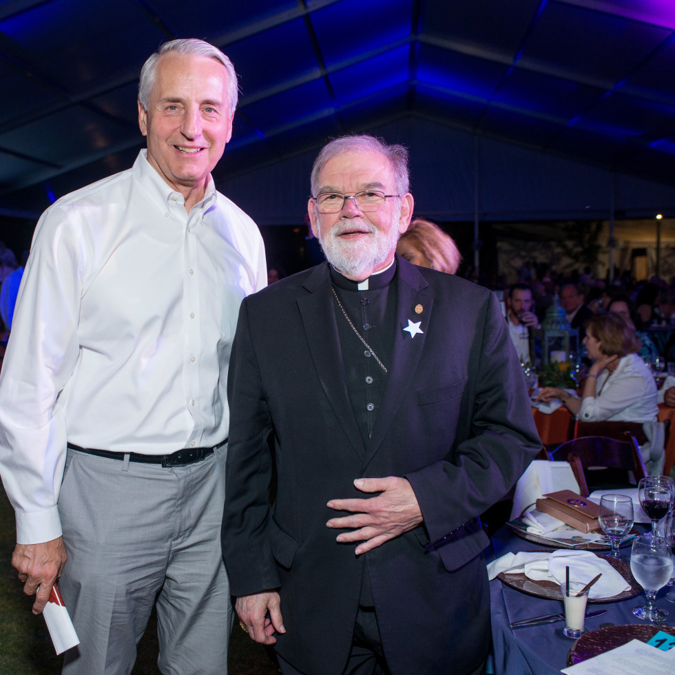 Catholic Charities Gala 5/16 Bob Ivany, Auxiliary Bishop Sheltz