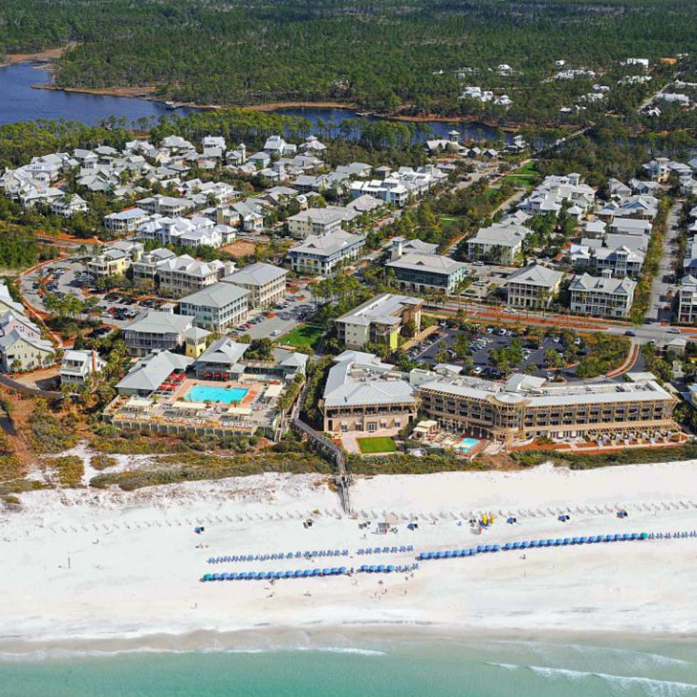 WaterColor Inn aerial