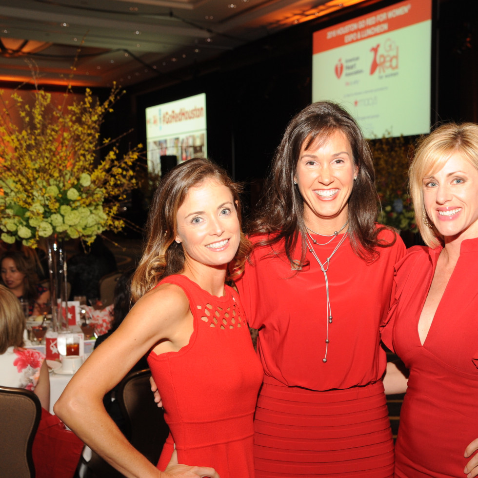 Go Red for Women, 5/16, Leslie Fertitta, Amy Reeves, Jessica Willey