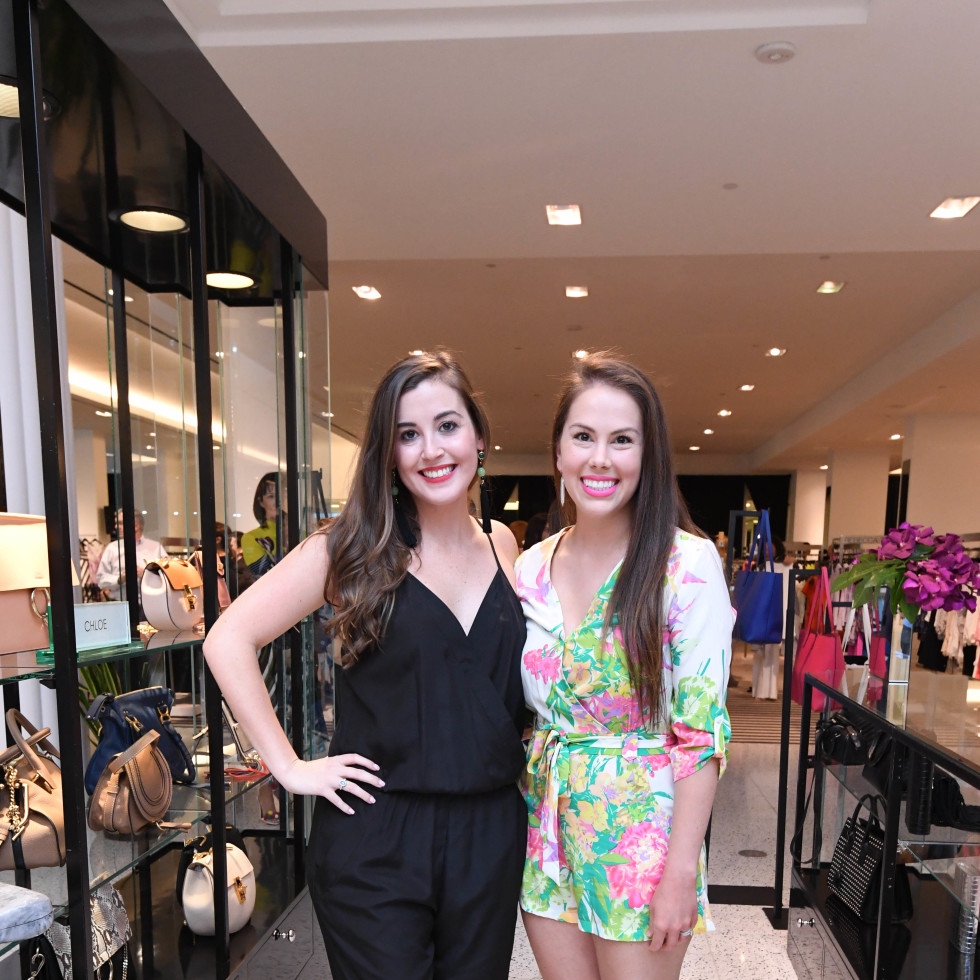 Fashion Gene Event, 5/16  Alyssa Parsons, Christina Dugan