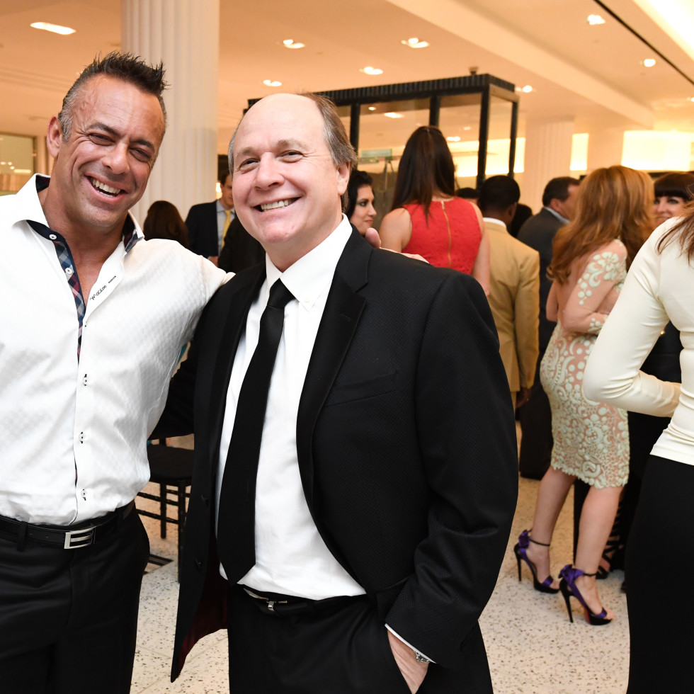 Fashion Gene Event, 5/16  Brian De Armas, Charles Johnson