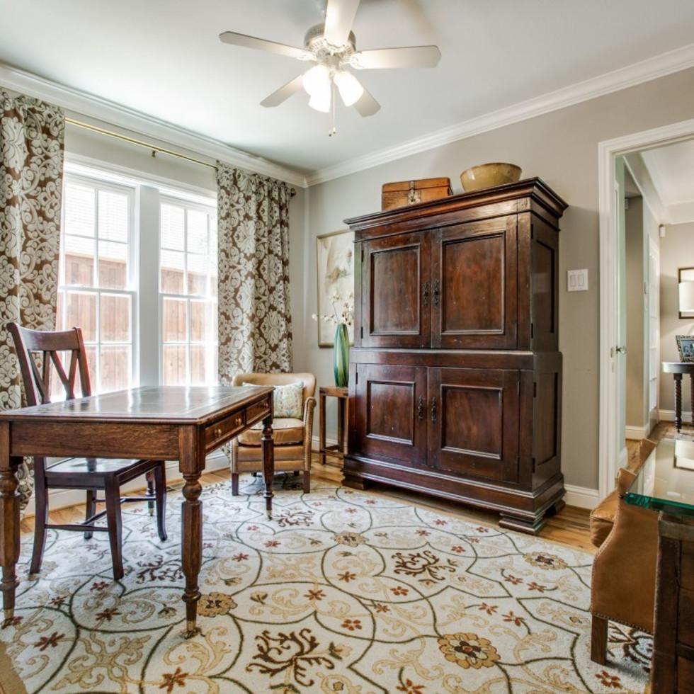 6932 Santa Monica Drive Dallas house for sale study