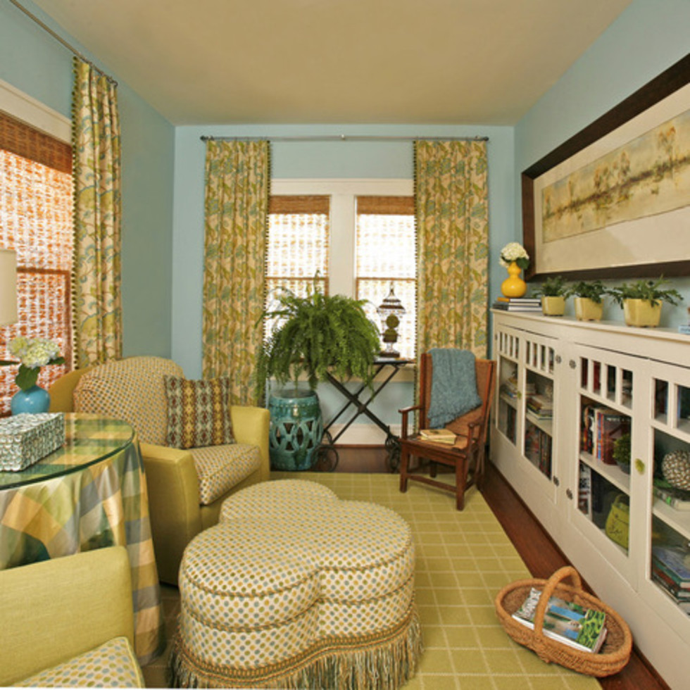 Houzz Fort Worth home tour Ryan Place sitting room