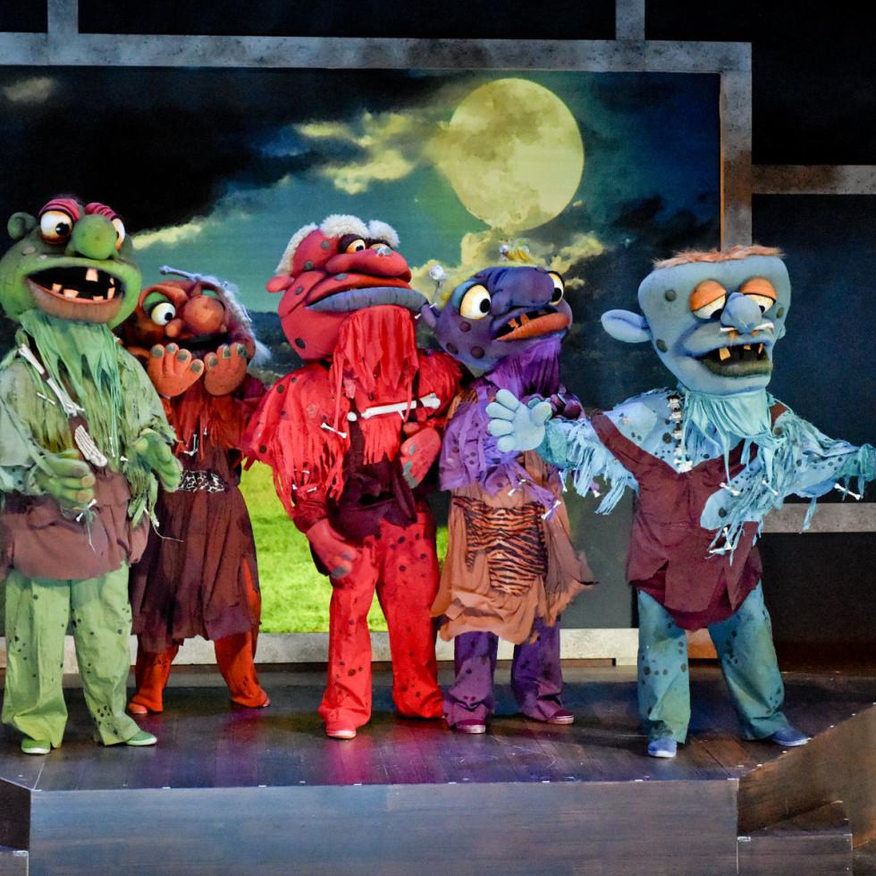Cast of Dallas Children's Theater's The BFG