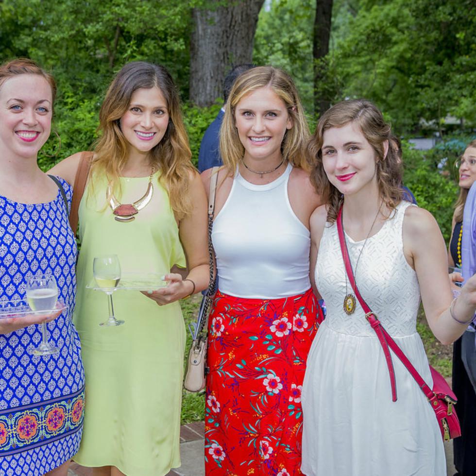 Umlauf Sculpture Garden and Museum Garden Party 2016 CultureMap Austin Molly McManus Kelly Keelan Kelli Blumrosen Nicole Raney