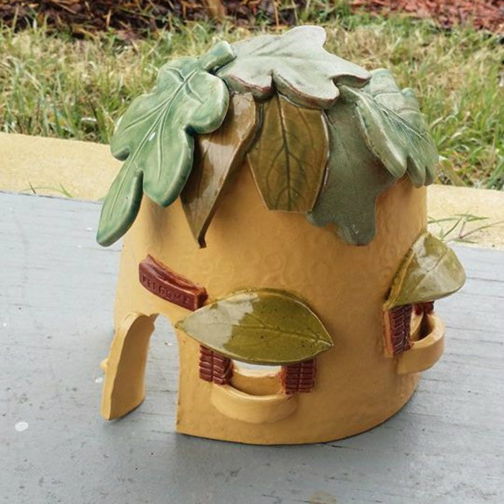 Fairy House Front Porch