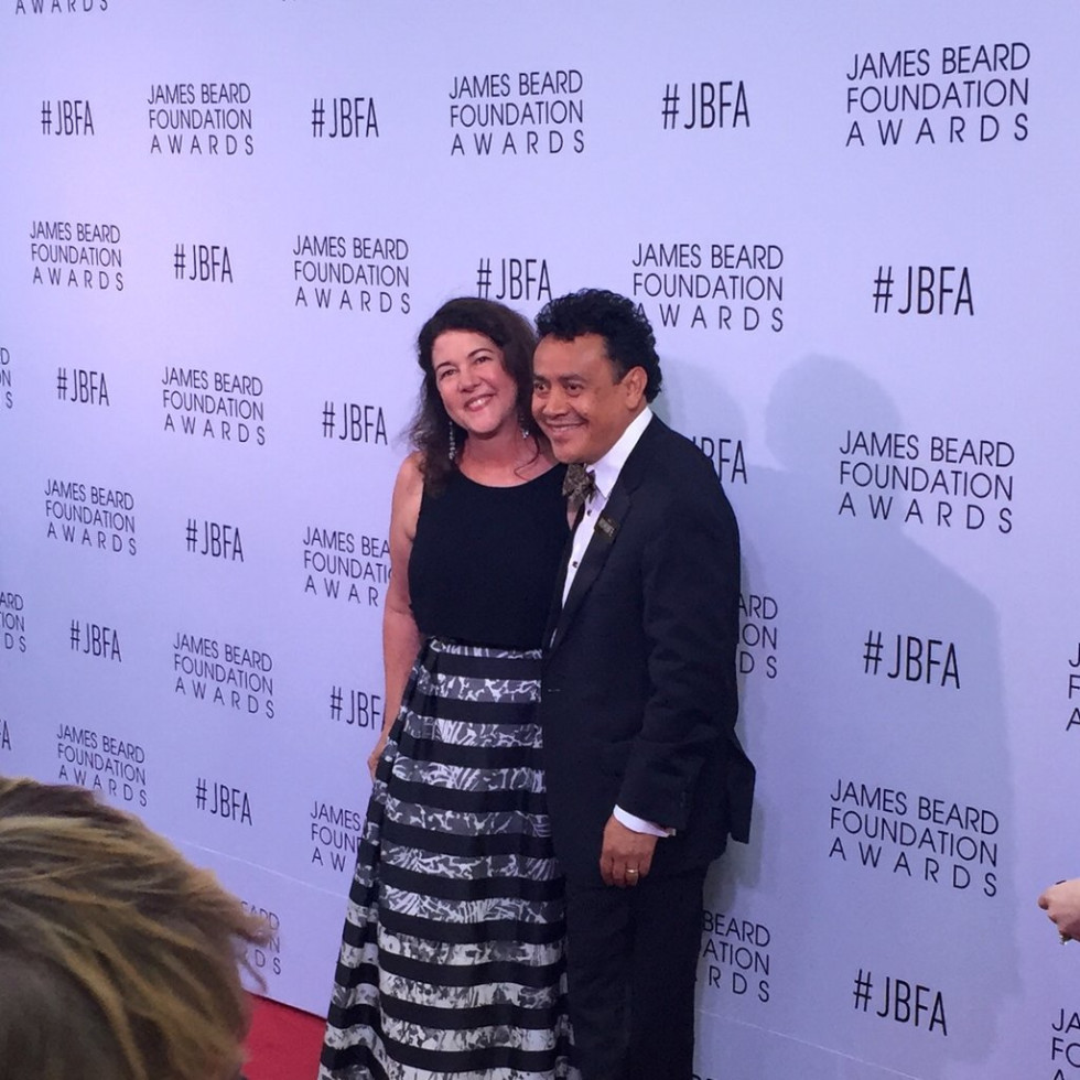 Hugo Ortega Tracy Vaught James Beard Award