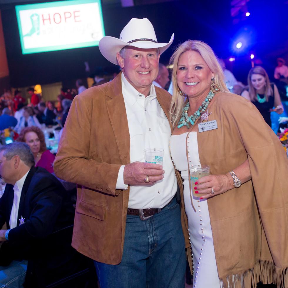 Cattle Baron's Ball, 4/2016 Greg Courtney, Terri Courtney