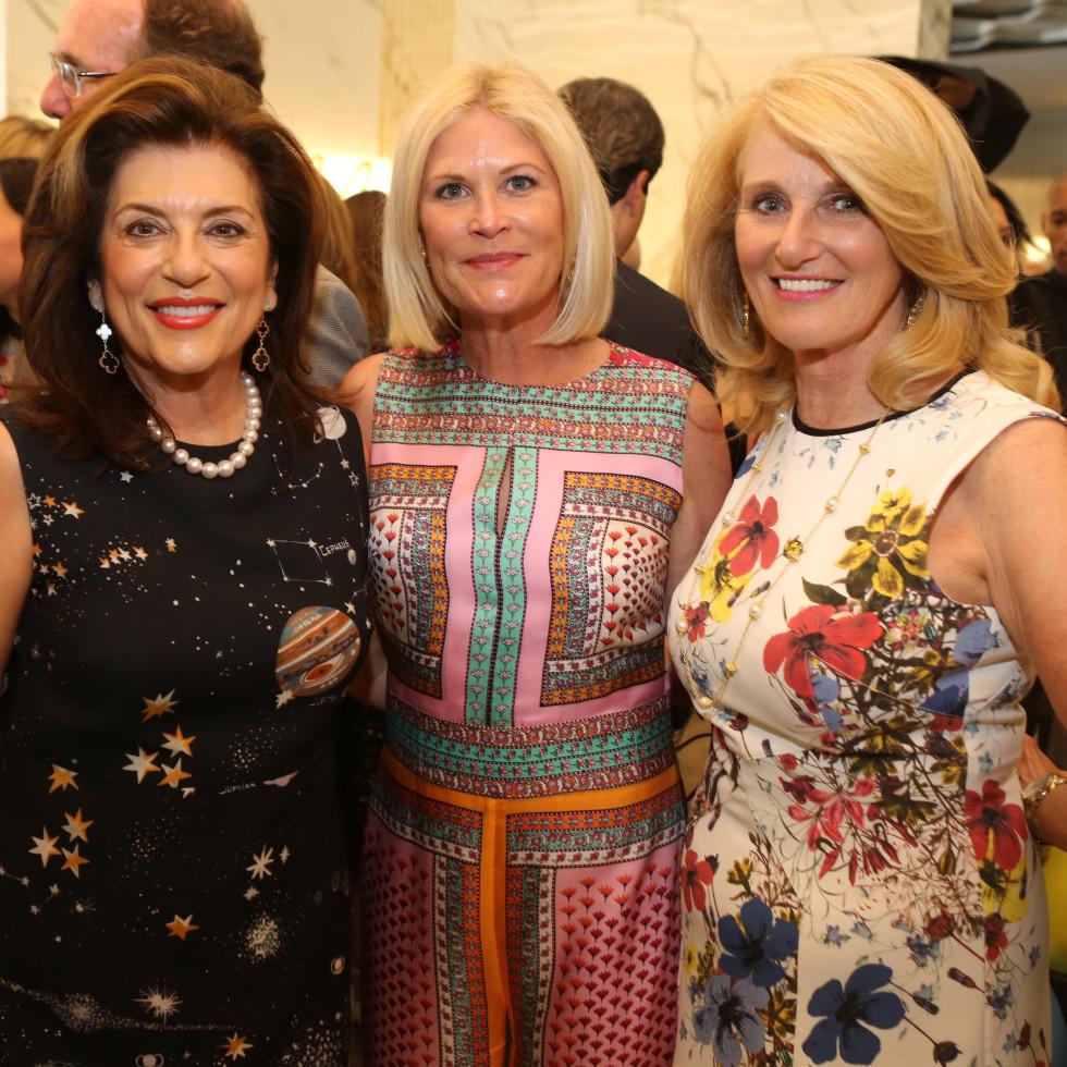 Saks MD Anderson benefit 4/16, Dancie Ware, Kelli Blanton, Denise Monteleone