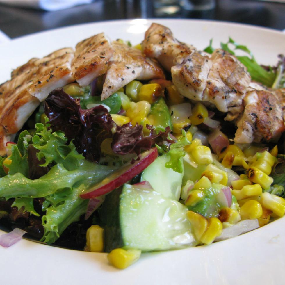 Ellen's Southern Kitchen chick salad