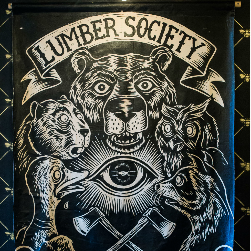 Grizzly Hall_Lumber Society poster
