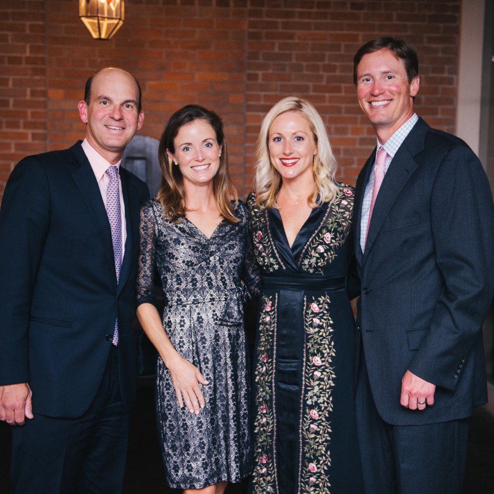 Small Steps dinner 4/16 Doug George, Katherine George, Leslie Fertitta, Michael Fertitta