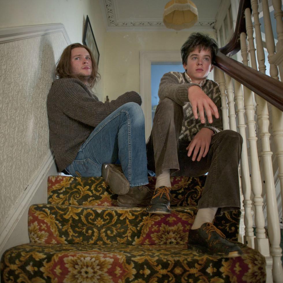 Jack Reynor and Ferdia Walsh-Peelo in Sing Street