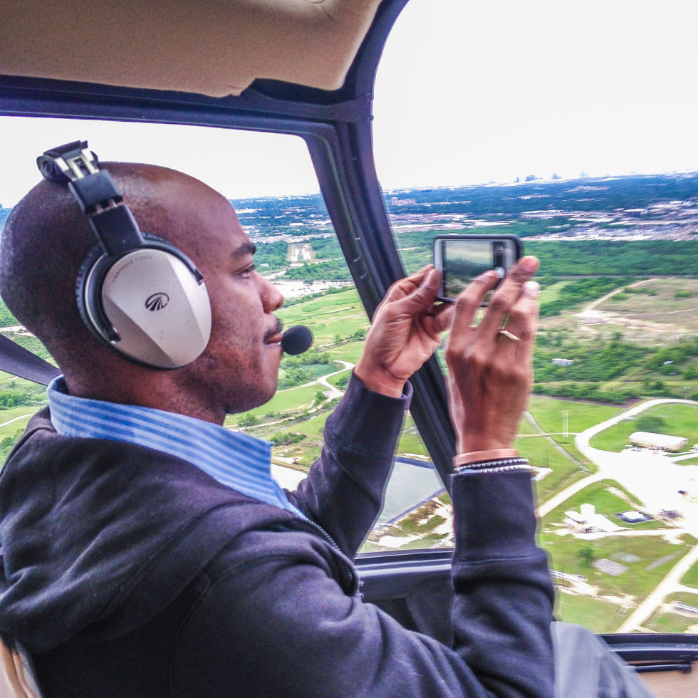Stephen Wiltshire helicopter