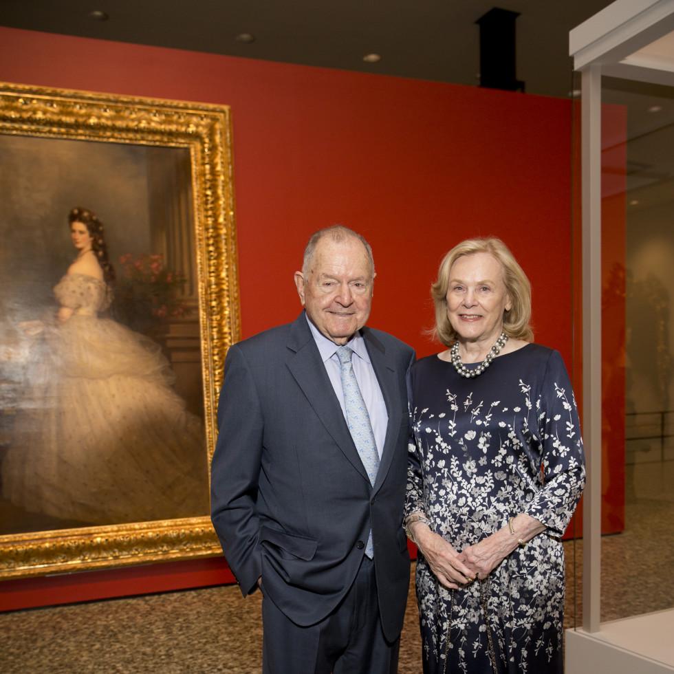 MFAH High Society, 4/16,  Charles Duncan, Anne Duncan