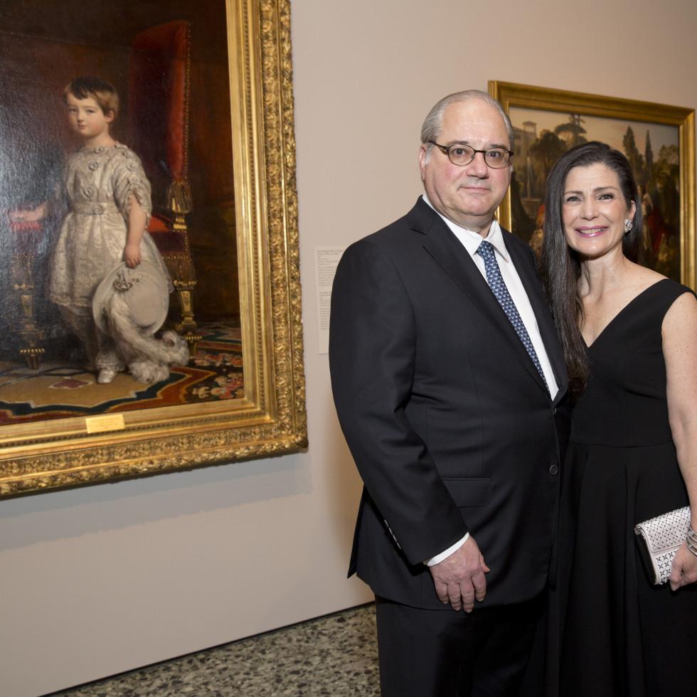 MFAH High Society, 4/16, Tony Petrello, Cynthia Petrello