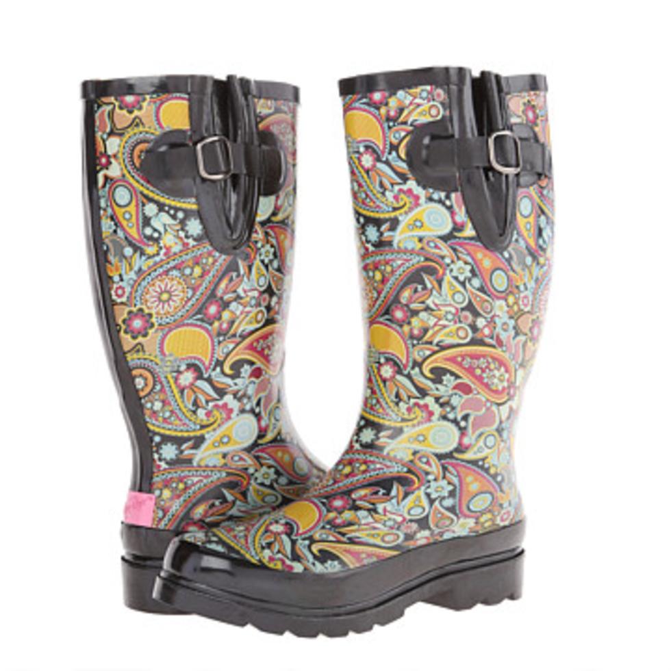 Rain boots, M&F Western Paisley $45