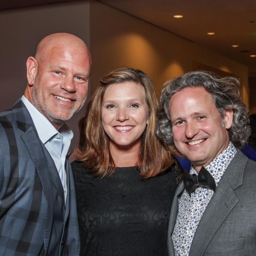 Blue Cure Gala, April 2016, Brian Dibiski, Dana McWhorter, Taft McWhorter