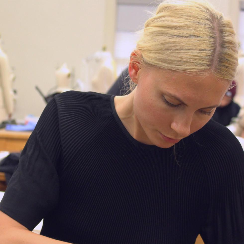 University of Texas fashion show Elements preview class April 2016 Rachel Baker