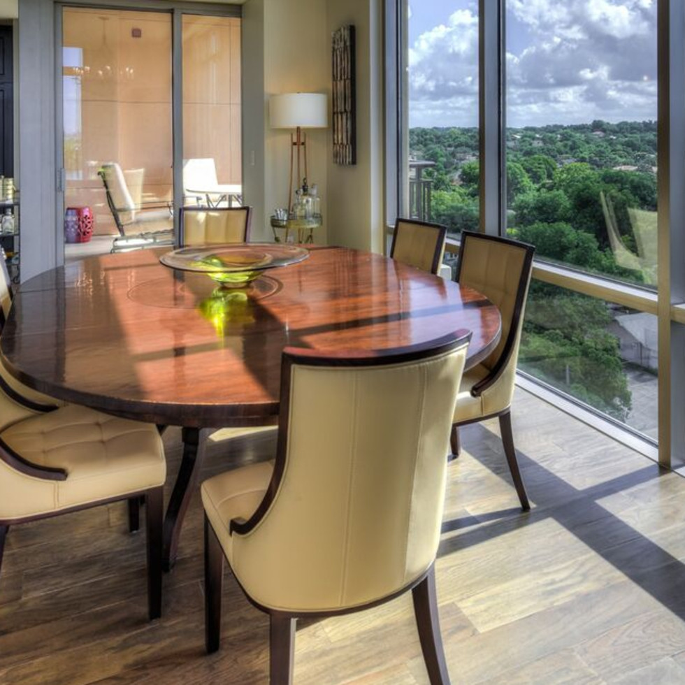 San Antonio home condo Broadway Residences 4242 Broadway Street April 2016 Dining Room