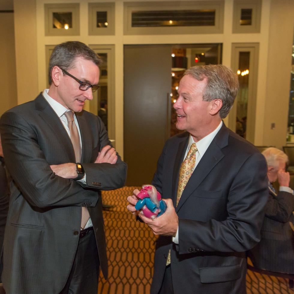 Houston Methodist Leading Hearts, April 2016, Dr. Stephen Little, Dr. Marc Boom