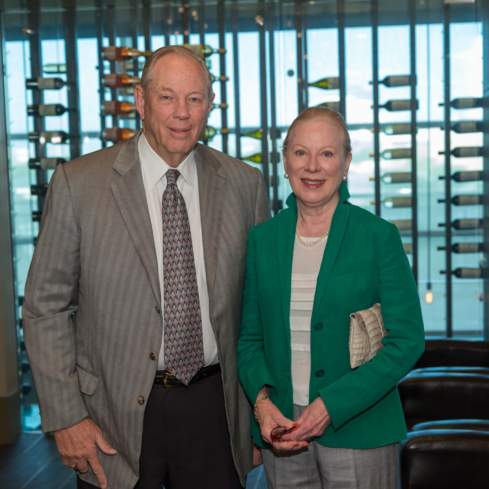 Houston Methodist Leading Hearts, April 2016, Bob Moses, Loretta Moses
