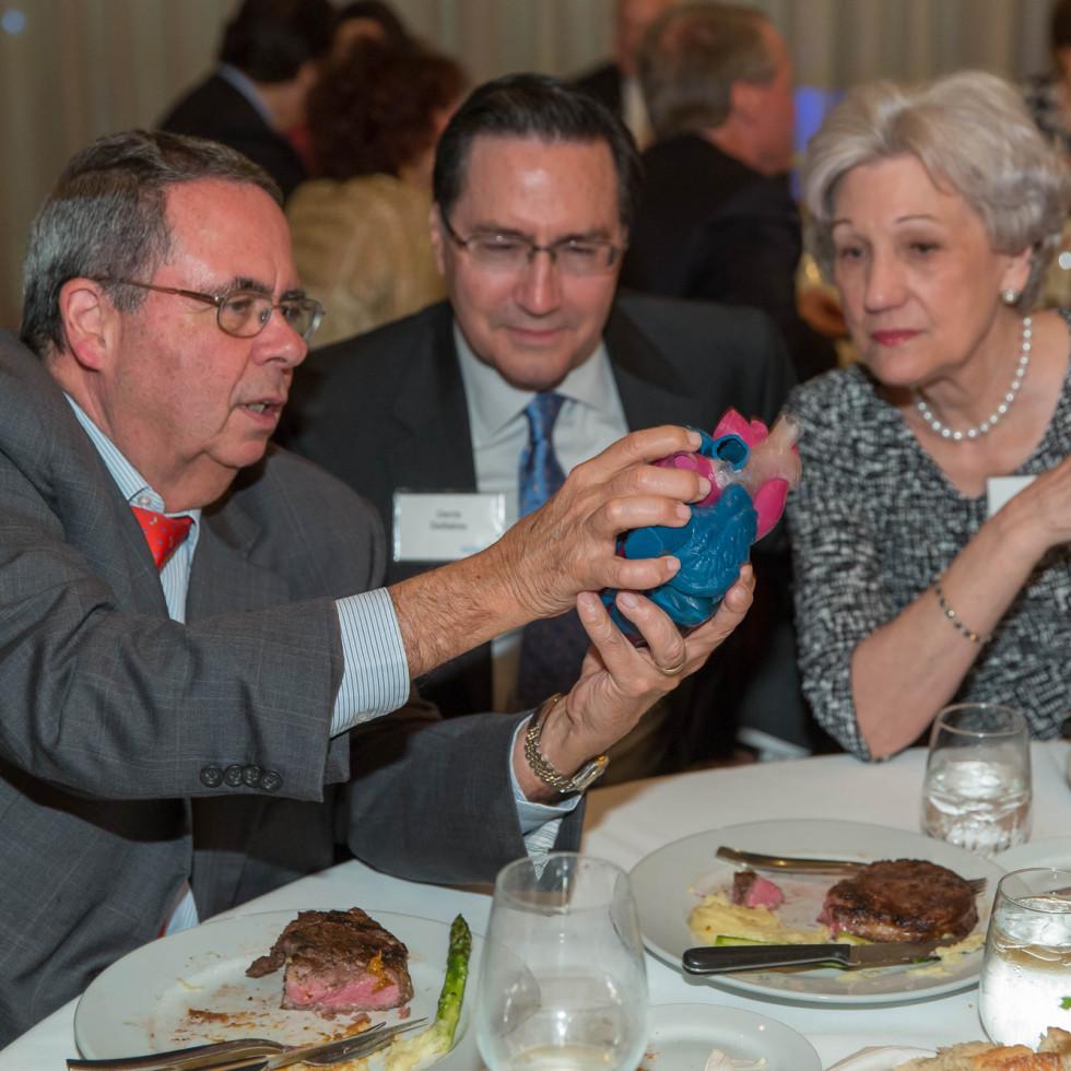 Houston Methodist Leading Hearts, April 2016, Dr. Miguel Quinones, Denis DeBakey, Anita Gotto