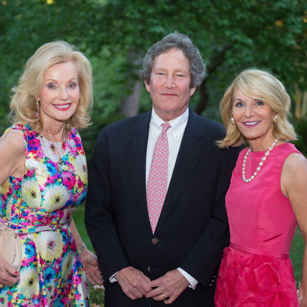 Bayou Bend Garden Party, April 2016, Pat Breen, Downing Mears, Lisa Mears