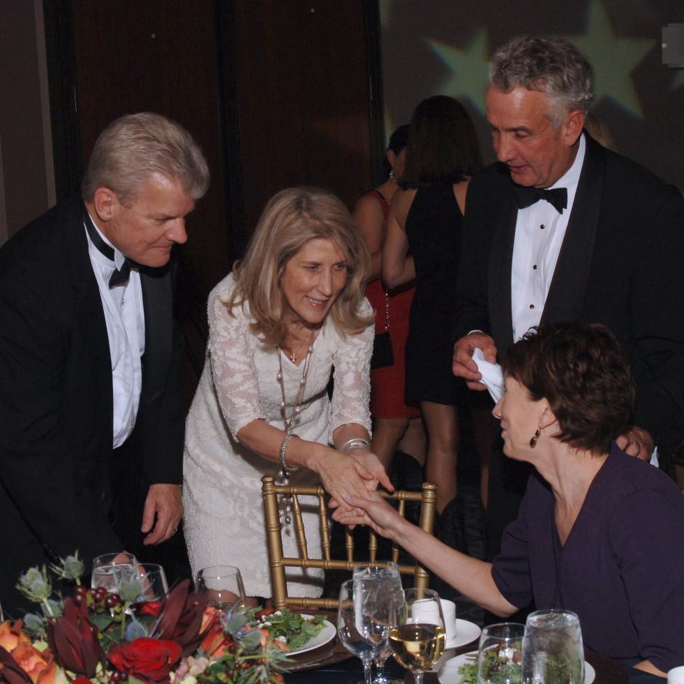 UH Law gala, April 2016, Brian Molin, Laura Trenaman, Tom Godbold, Debbie Godbold