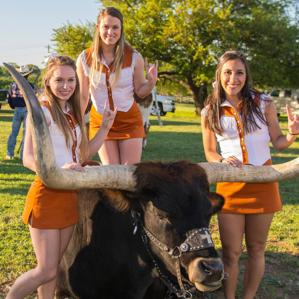 Bandana Ball April 2016 Ronald McDonald House Charities of Central Texas University of Texas cheerleaders longhorn