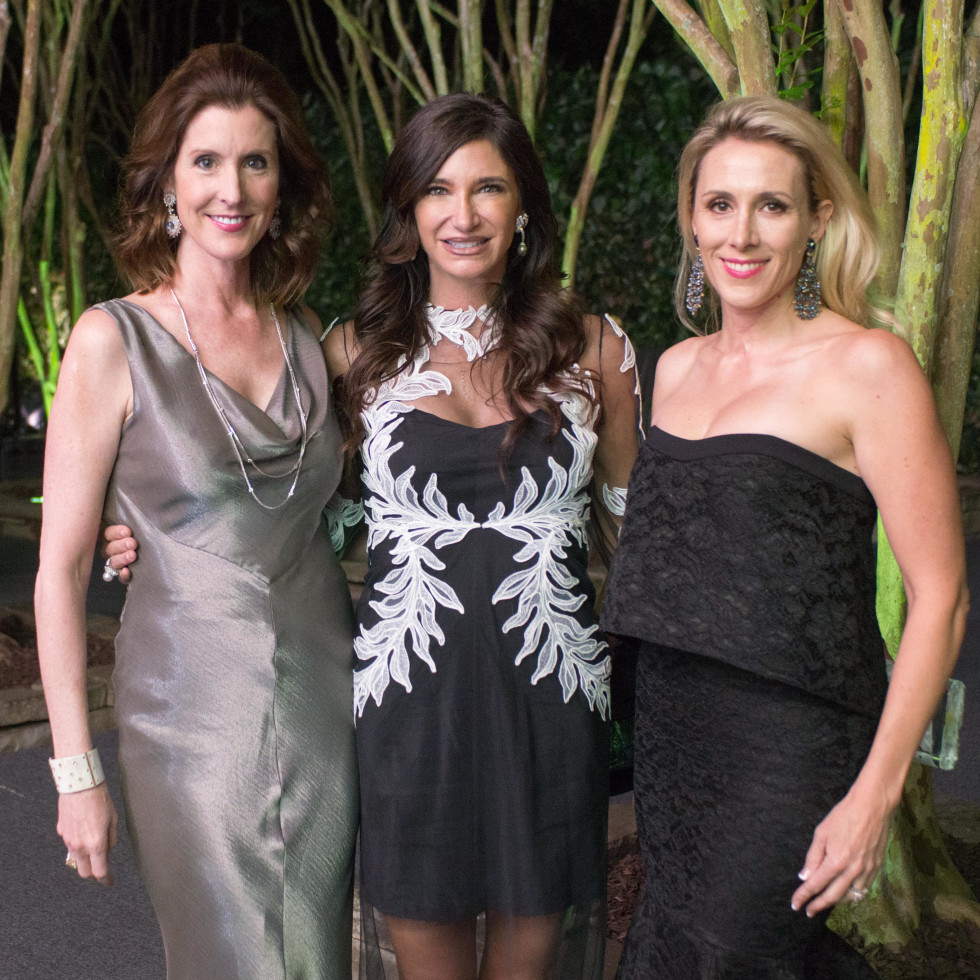 Van Cleef & Arpels party, April 2016, Phoebe Tudor, Melissa Mithoff, Kristy Sullivan