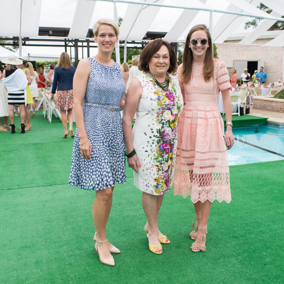 River Oaks Tennis Luncheon, April 2016, Gabriela Gerhart, Rose Cullen, Lilly Cullen